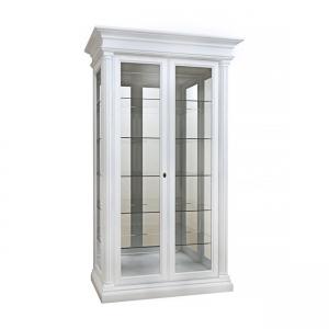 Вітрина 2-х дверна скло до низу (2 боки зі склом до низу)