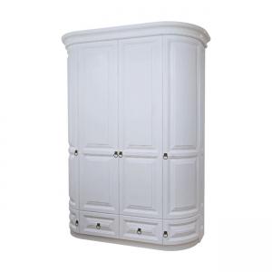 Шафа 4-х дверна з шухлядами  (2 круглі дверки + 2 прямі)