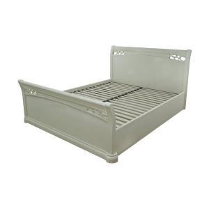 Ліжко високе з підйомним механізмом і місцем для білизни